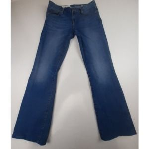 GAP 1969 PERFECT BOOT HEMMED JEANS SZ 28
